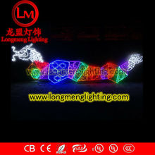 chinese color dragon decoration motif light,high quality decoration lights,CE,ROSH Approve