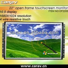 Iron-framed 22 inch open frame touch screen monitor (OF2200)