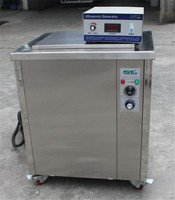 Custom Ultrasonic kitchen utensil washing machine with heater for restaurant JTS-1036