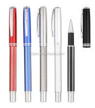 metal gift pen,heavy luxury pen,printed promotional pen