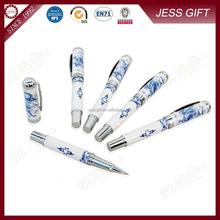 Blue and white porcelain gel pen Ceramic signature pen best gift for men