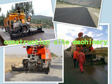 Self-propelled color slurry sealer,/micro-surfacing truck/ modified asphalt, hydraulic controling