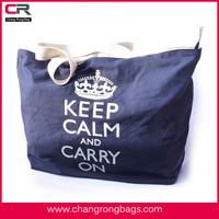 2015 Latest cotton canvas tote shopping bag, handbag manufacturers China