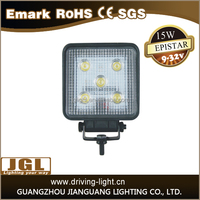 JGL Car accessories IP67 12V 15w 18w 24w 27w offroad led work light cob square for car