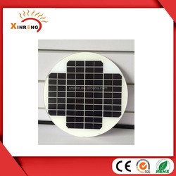 Glass Laminated Monocrystalline Solar Panel 18V 8W