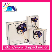 Manufacturer Packaging bag kraft shopping wholesale custom paper bag