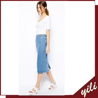 wholesale long denim skirts for women made in China