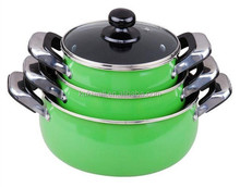 10pc alu non-stick induction cookware