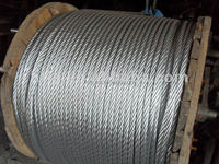 7*7 galvanized steel wire rope 1.5mm 3mm