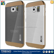 two in one slicoo combo cell phone case for samsung galaxy s6