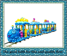 More than 10 years experience in amusement park ocean train manufacturers for sale