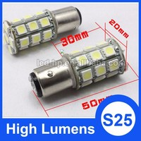 High bright 24SMD 5050 S25 1156 1157 auto car led 12v bulbs
