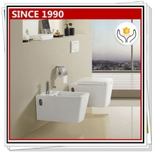 KB-112 Square cheap bathroom wall hung toilet dimensions