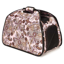 Double Mesh Tent Foldable Pet Carrier