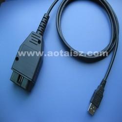J1962 OBD2 usb cable for car diagnostic