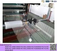 food grade transparent PET sheet or roll for folding box