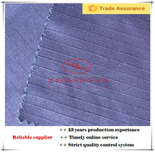 Polyester 65 cotton 35 dyed ripstop fabric for training clothes