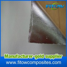 china supply aluminum foil coated glass fabric for oil pipelines
