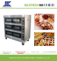 Digital Temperature Controller Commercial Gas Oven for bakery bread, biscuit