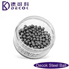 "1/4""(6.350mm) chrome steel or carbon steel ball for bearings/Chinese manufacturer/Dong'e Samsung steel ball"