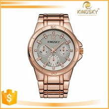 2015 kingsky 120013A# best sell lover geneva quartz japan movt watch china