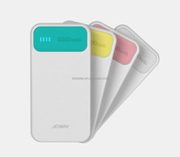 New slim 6000mAh power bank JP-61, with li-polymer battery