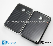 2014 New Outdoor Travelling Universal Solar Panel Charger Power Bank 5000mah