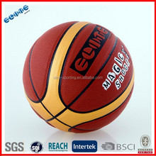 Best price laminated PU street basketball ball