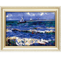 Handmade gift famouse oil painting abstract paint by numbers 40*50cm