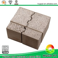 high quality EPS fiber cement sandwich panel for walls building materials D