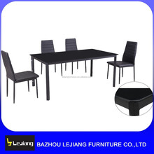 home designs tempered glass dining table
