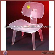 Modern and popular plexiglass chair