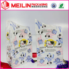 cow pattern printing clear PET box