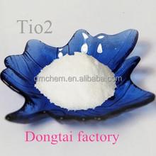 Haute qualité dioxyde de titane Tio2 utilisé en plastique