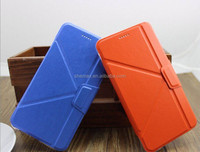 In stock!!! 2015 new product TPU leather flip standing transformer case for iphone 5