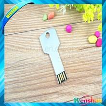 new design key shape USB Flash Drive 64GB mini USB flash disk