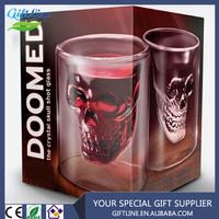 High Quality Creative Skull Cup/Skull Glass Cup/Home Party Doomed Skull Cup