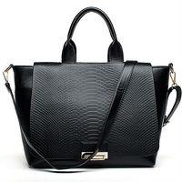 E775 Europe design guangzhou wholesale snake skin tote fashion bag