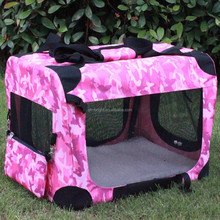 Fabric Dog Crate Pet Carrier Dog Kennel Pet Soft Crate dog crate