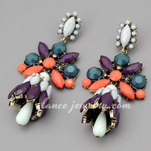 crystal bali jewelry earring factory china