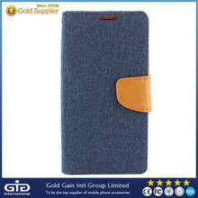 New Product Denim PC+PU Case For LG Stylus/LS770