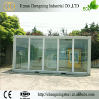 Wide Applications Civil Modern Malaysia Economic Modular Standard Size 20Ft 40Ft Container Home