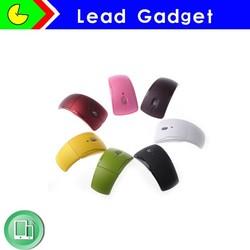 Arc Black Folding Wireless Bluetooth Mouse And Keyboard