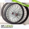 OEM front 38mm carbon clincher wheels 50mm rear with powerway r36 hub Chinese carbon wheels for wheel bike race