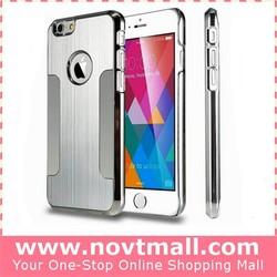 Silver Hard Aluminum Case Cover For Apple Iphone 6 Plus 5.5