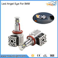 China Facotry The latest Design 80w C ree Led Marker Light, High Quality H8 80W Angel Eyes for Bmw With Fan