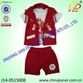 Jianer nueva llegada 100% de algodón barato de verano los niños ropa niños traje