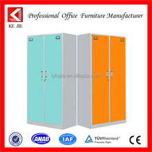 Metal Colorful 2 Door Locker, Metal Locker, Steel Locker