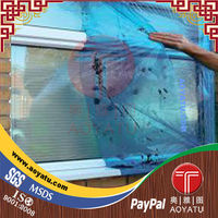 temporary surface protection window film