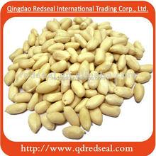 Blanched peanut kernels
